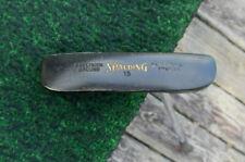 Vintage Spalding TPM Tour Series 15 Gold Paint Putter Nice