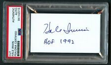 Hale Irwin signed autograph auto 2x3.5 cut Golf Hall of Fame PSA Slabbed