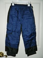 GYMBOREE boys Blue Black SNOW SKI PANTS* 4 5