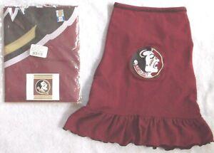 "Lg. ALL STAR DOGS DRESS & NWT 36"" x 48"" FLORIDA STATE UNIVERSITY SEMINOLES FLAG"