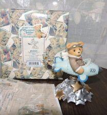 Cherished Teddies Milton Wishing For Bright Future Figurine Rocket Coa 542644