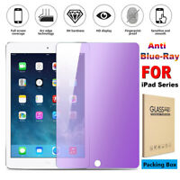 "Anti Blue Ray Tempered Glass Screen Protect For iPad Pro 9.7"" 10.5"" Mini 1/2/3/4"