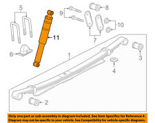 GM OEM Rear-Shock Absorber or Strut 23376639