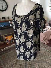 Tiger Print Vintage Anokhi Size M Shirt Top