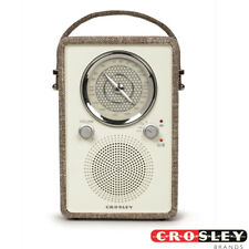 Crosley CR3034A-HA Mockingbird AM/FM Radio with Bluetooth Speaker - Havana