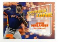 2019 Topps Stadium Club Emperors of the Zone Orange #EZ-24 Justin Verlander /50