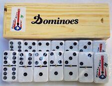 Puerto Rico Flag & Guitar Double Six Dominos - Dominoes - ( Boricua Rican )