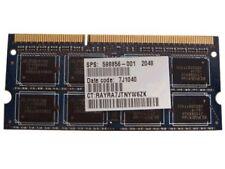 Memory 598856-001 Hewlett-Packard 2Gb Ddr3 1333Mhz Pc3-10600 204-Pin