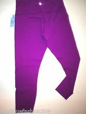 NWT Womens Lululemon High Time Pant Legging New Yoga Lounge Pilates Purple 12