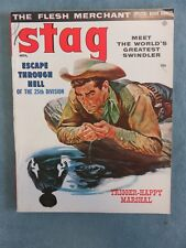 Stag Men's Pulp/Adventure Magazine November 1956