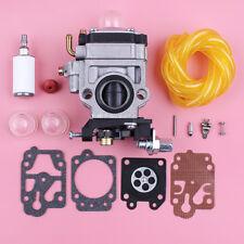 Carburetor Carb Repair Kit For 40-5 43cc 47cc 49cc 52cc w Fuel Filter Line Hose