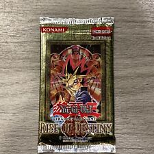YuGiOh! 1st Edition Rise Of Destiny (RDS) Booster Pack! Out Of Print! Rare!