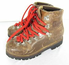 Vtg. Kastinger Leather Hiking Boots Womens Size 7 Mountaineering Made in Austria