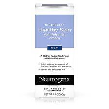 Neutrogena Healthy Skin Anti-Wrinkle Cream Night With Retinol 1.4 Oz