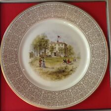 Lenox White House Of The Confederacy Limited Edition Plate 24K Gold Border-1971