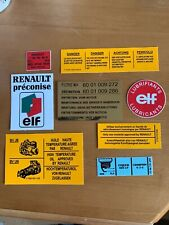 Renault 5 GT Turbo Engine Bay Sticker - EACH