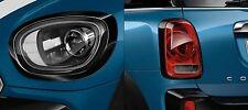 OEM Mini Cooper Countryman F60 Black Headlight & Tail Light Rings (4) Piece Set