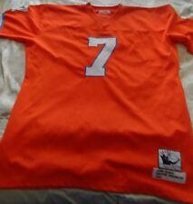 orange Denver Broncos John Elway (7) stitched jersey - adult XXXXL / 4XL 58