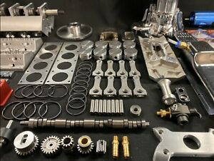 1/4 Scale V8 Nitro Powered Engine Kit, Includes New Upgraded Billet Head Design!