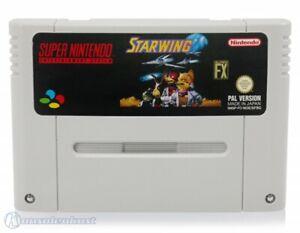 Nintendo SNES game Starwing ENGLISH cartridge