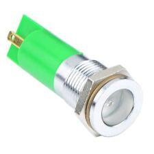 Green LED 14mm Panel Indicator Light 24VDC APEM