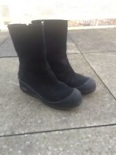 BALLY Carde Women's Suede Boots SIZE 40 Black