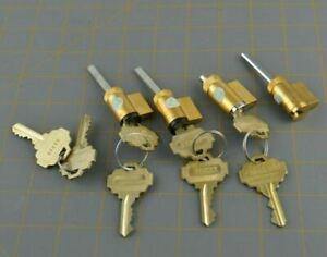 Emtek Keyway Locksmith  Lot of 4 Sets Part Door Lock Cylinder Keys Keyed Alike