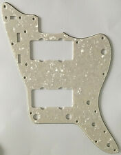 New listing For Fender US Jazzmaster Style Guitar Pickguard Scratch Plate,Ivory White Pearl