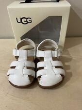 Ugg Kolding Fisherman Sandal - Toddler Girl's Size 4/5  White