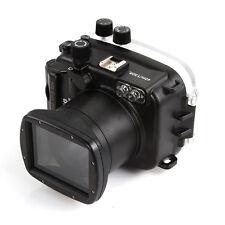 Meikon 40m Underwater Waterproof Photo Housing Case fr Canon EOS M3 18-55mm Lens