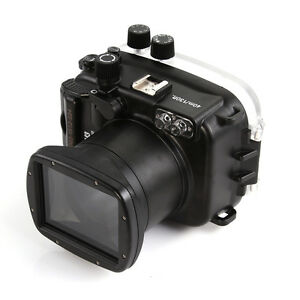 Meikon 40m Underwater Waterproof Photo Housing Case fr Canon EOS M3 18-55mm Lens
