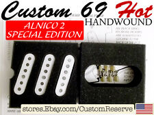 CR CUSTOMSHOP 69 HOT BOUTIQUE PICKUP SET USA FOR FENDER STRAT SPECIAL EDITION A2