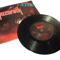 "Nazareth 'Live' Double Vinyl 7"" Single VG+/EX/VG+ Nice Clean Copy!"