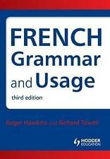 NEW French Grammar and Usage, 3rd Edition (English and French Edition)