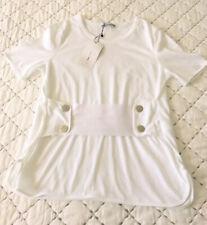 Ladies Zara Corset Top In White Size S BNWT