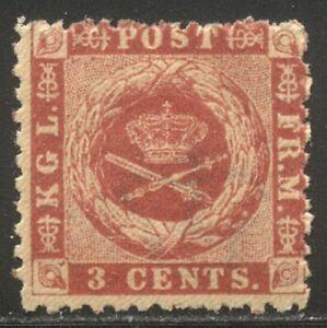 DWI #3 Mint - 1872 3c Rose ($100)
