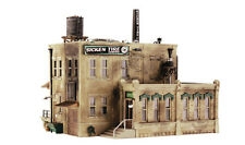 Woodland Scenics N PF5204 Sicken Tire Company Pre-Fab Building Kit. New