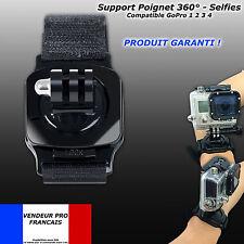 fixation Poignet Brassard Sangle Bras support armband ORIENTABLE vis GoPro PNJ