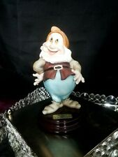 Giuseppe Armani Walt Disney happy Snow White Figurine 0327C Hand Signed
