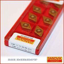 DCMT 32.52 PM 4015  SANDVIK *** 10 INSERTS *** FACTORY PACK ***