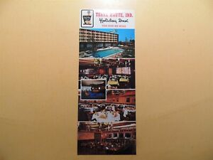 Holiday Inn Hotel Terre Haute Indiana vintage oversized postcard