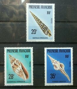 France Shells 1979 Marine Life Ocean Seashell (stamp) MNH