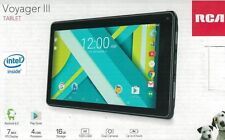 """RCA Voyager III 7"""" IPS Screen RCT6973W43 Android 6.0 front & back camera"""