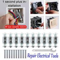 Socket Cassette Screws Support Rod Box Repair Electrical Tools NEW