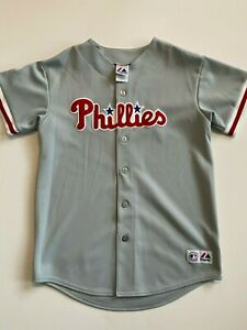 Philadelphia Phillies Jersey Youth Extra Large MLB Baseball Team Fan Shirt