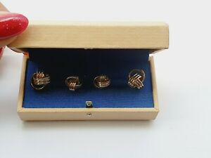 Genuine Links Of London Collectors Knotted Cufflinks Early Annoushka Ducas Boxed