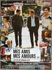 Affiche MES AMIS, MES AMOURS Lorraine Lévy VINCENT LINDON Pascal Elbé 40x60cm