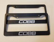 COBB License Plate Frame STI GTI JDM SUBARU WRX EVO MITSUBISHI (CHOOSE COLOR)