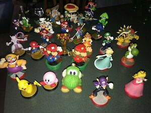 Amiibo Lot Of 31 Figures Nintendo Zelda Pokémon Metroid Smash Bros Mario Kirby