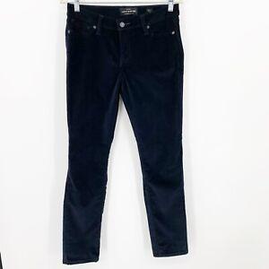 Lucky Brand Navy Lolita Skinny Velvet Jeans Size 6/28